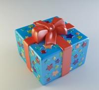 Силиконовая форма Подарок 3D - Все для мыла ручной работы - интернет-магазин Blesk-ekb.ru, Екатеринбург