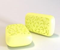 Силиконовая форма Прямоугольник 3 3 D 1 шт - Все для мыла ручной работы - интернет-магазин Blesk-ekb.ru, Екатеринбург