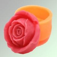 Силиконовая форма РОЗА №35  2D 1шт - Все для мыла ручной работы - интернет-магазин Blesk-ekb.ru, Екатеринбург