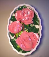 Силиконовая форма Букет Роз 2D 1шт - Все для мыла ручной работы - интернет-магазин Blesk-ekb.ru, Екатеринбург