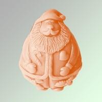 Силиконовая форма Санта  2D - Все для мыла ручной работы - интернет-магазин Blesk-ekb.ru, Екатеринбург