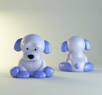 Силиконовая форма Щенок НП 3D 1 шт - Все для мыла ручной работы - интернет-магазин Blesk-ekb.ru, Екатеринбург