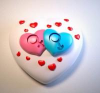 Силиконовая форма Сердце с орнаментом 6 2D - Все для мыла ручной работы - интернет-магазин Blesk-ekb.ru, Екатеринбург