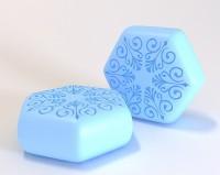 Силиконовая форма Шестигранник 2 3 D 1 шт - Все для мыла ручной работы - интернет-магазин Blesk-ekb.ru, Екатеринбург