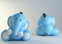 Силиконовая форма Слоненок НП 3D - Все для мыла ручной работы - интернет-магазин Blesk-ekb.ru, Екатеринбург