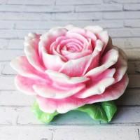 Силиконовая форма Королевская роза 3D - Все для мыла ручной работы - интернет-магазин Blesk-ekb.ru, Екатеринбург