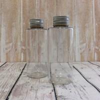 Флакон прозрачный с алюминиевой крышкой 100 мл  - Все для мыла ручной работы - интернет-магазин Blesk-ekb.ru, Екатеринбург