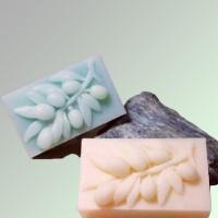Силиконовая форма Ветка оливы 2D 1 шт - Все для мыла ручной работы - интернет-магазин Blesk-ekb.ru, Екатеринбург