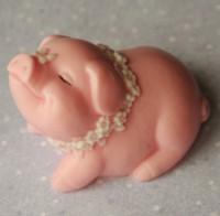 Силиконовая форма Свинка модница 1 шт - Все для мыла ручной работы - интернет-магазин Blesk-ekb.ru, Екатеринбург
