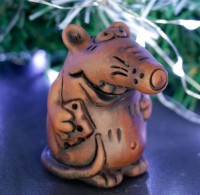 Силиконовая форма Крыс с сыром 3D 1 шт - Все для мыла ручной работы - интернет-магазин Blesk-ekb.ru, Екатеринбург