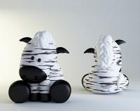 Силиконовая форма Зебра 3D 1 шт - Все для мыла ручной работы - интернет-магазин Blesk-ekb.ru, Екатеринбург
