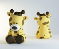 Силиконовая форма Жирафик 3D НП 1 шт - Все для мыла ручной работы - интернет-магазин Blesk-ekb.ru, Екатеринбург