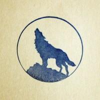 Силиконовый штамп Волк воет 4*4 1 шт - Все для мыла ручной работы - интернет-магазин Blesk-ekb.ru, Екатеринбург