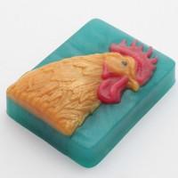 Пластиковая форма  Петух портрет 1 шт - Все для мыла ручной работы - интернет-магазин Blesk-ekb.ru, Екатеринбург