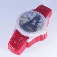 Пластиковая форма Часы наручные кожаный браслет 1 шт - Все для мыла ручной работы - интернет-магазин Blesk-ekb.ru, Екатеринбург