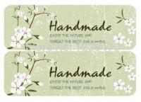 Наклейки Handmade 4 шт - Все для мыла ручной работы - интернет-магазин Blesk-ekb.ru, Екатеринбург