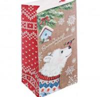 Пакет бумажный Мишка  19,5*10*7 1 шт - Все для мыла ручной работы - интернет-магазин Blesk-ekb.ru, Екатеринбург