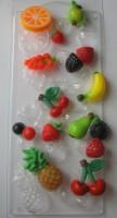 Пластиковая форма Фруктовое ассорти 1 шт - Все для мыла ручной работы - интернет-магазин Blesk-ekb.ru, Екатеринбург