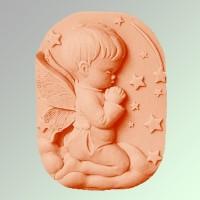 Силиконовая форма Ангел 70 2D 1 шт - Все для мыла ручной работы - интернет-магазин Blesk-ekb.ru, Екатеринбург