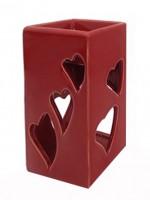 Аромалампа Сердце 13,2*7*5,5 1 шт - Все для мыла ручной работы - интернет-магазин Blesk-ekb.ru, Екатеринбург