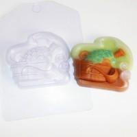 Пластиковая форма Банька 1 шт - Все для мыла ручной работы - интернет-магазин Blesk-ekb.ru, Екатеринбург