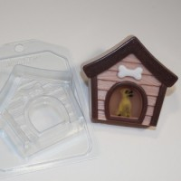 Пластиковая форма Будка собачья 1 шт     - Все для мыла ручной работы - интернет-магазин Blesk-ekb.ru, Екатеринбург