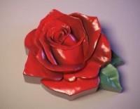 Силиконовая форма Бутон Розы 2D 1 шт - Все для мыла ручной работы - интернет-магазин Blesk-ekb.ru, Екатеринбург