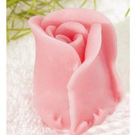 Силиконовая форма Бутон розы  3D 1 шт - Все для мыла ручной работы - интернет-магазин Blesk-ekb.ru, Екатеринбург