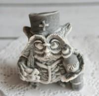 Силиконовая форма Сова МЕДИК 3D, 1 шт - Все для мыла ручной работы - интернет-магазин Blesk-ekb.ru, Екатеринбург