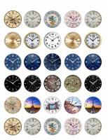 Водорастворимая бумага с печатью Циферблаты для формы часы 1 шт  - Все для мыла ручной работы - интернет-магазин Blesk-ekb.ru, Екатеринбург