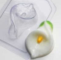 Пластиковая форма Калла 1 шт - Все для мыла ручной работы - интернет-магазин Blesk-ekb.ru, Екатеринбург