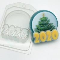 Пластиковая форма  2020 - Круг под водорастворимку 1 шт - Все для мыла ручной работы - интернет-магазин Blesk-ekb.ru, Екатеринбург