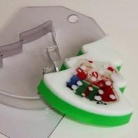 Пластиковая форма Елка плоская, 1 шт - Все для мыла ручной работы - интернет-магазин Blesk-ekb.ru, Екатеринбург
