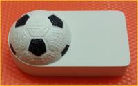 Пластиковая форма  ФУТБОЛ под водорастворимку 1 шт - Все для мыла ручной работы - интернет-магазин Blesk-ekb.ru, Екатеринбург