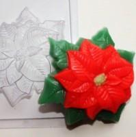 Пластиковая форма Пуансетия 1 шт - Все для мыла ручной работы - интернет-магазин Blesk-ekb.ru, Екатеринбург