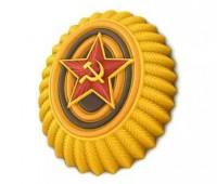 Пластиковая форма Кокарда 1 шт - Все для мыла ручной работы - интернет-магазин Blesk-ekb.ru, Екатеринбург