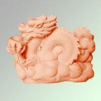 Силиконовая форма Дракон 10  3D 1 шт - Все для мыла ручной работы - интернет-магазин Blesk-ekb.ru, Екатеринбург