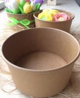 Коробка круглая крафт 12,8*15*6 1 шт   - Все для мыла ручной работы - интернет-магазин Blesk-ekb.ru, Екатеринбург