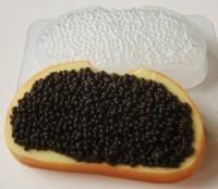 Пластиковая форма Бутерброд с черной икрой 1 шт - Все для мыла ручной работы - интернет-магазин Blesk-ekb.ru, Екатеринбург