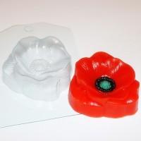Пластиковая форма Мак 1 шт - Все для мыла ручной работы - интернет-магазин Blesk-ekb.ru, Екатеринбург