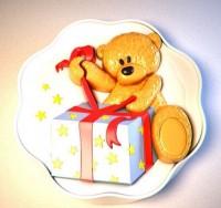 Силиконовая форма Мишка с коробкой 2D 1шт - Все для мыла ручной работы - интернет-магазин Blesk-ekb.ru, Екатеринбург