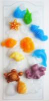 Пластиковая форма Морское ассорти 1 шт - Все для мыла ручной работы - интернет-магазин Blesk-ekb.ru, Екатеринбург