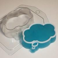 Форма пластиковая Выноска облако  1 шт - Все для мыла ручной работы - интернет-магазин Blesk-ekb.ru, Екатеринбург