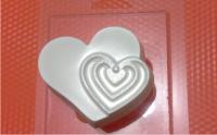 Пластиковая форма Ритм сердца 1 шт - Все для мыла ручной работы - интернет-магазин Blesk-ekb.ru, Екатеринбург
