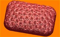 Пластиковая форма Брусок РОЗЫ 1 шт  - Все для мыла ручной работы - интернет-магазин Blesk-ekb.ru, Екатеринбург