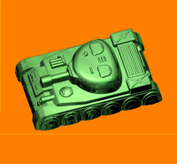 Пластиковая форма Танк 1 шт - Все для мыла ручной работы - интернет-магазин Blesk-ekb.ru, Екатеринбург
