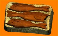 Форма пластиковая Бутерброд со шпротами 1 шт - Все для мыла ручной работы - интернет-магазин Blesk-ekb.ru, Екатеринбург