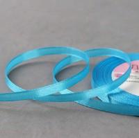 Голубая атласная лента, 1 м - Все для мыла ручной работы - интернет-магазин Blesk-ekb.ru, Екатеринбург