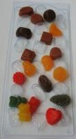 Пластиковая форма Конфетное ассорти 1 шт - Все для мыла ручной работы - интернет-магазин Blesk-ekb.ru, Екатеринбург