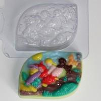 Пластиковая форма Репка 1 шт - Все для мыла ручной работы - интернет-магазин Blesk-ekb.ru, Екатеринбург